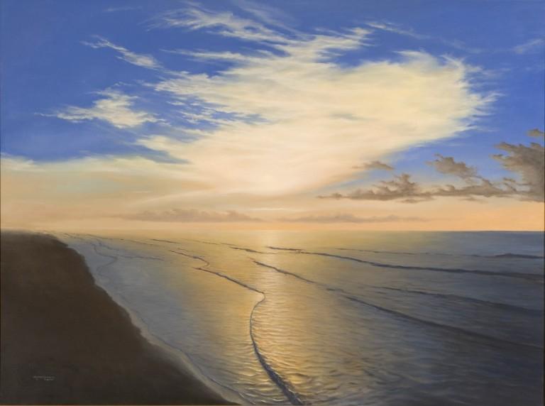 Gulf coast sunrise.